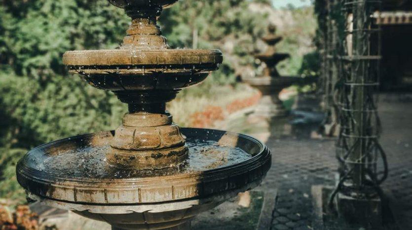 Cebu Fountain found in Sales Garden
