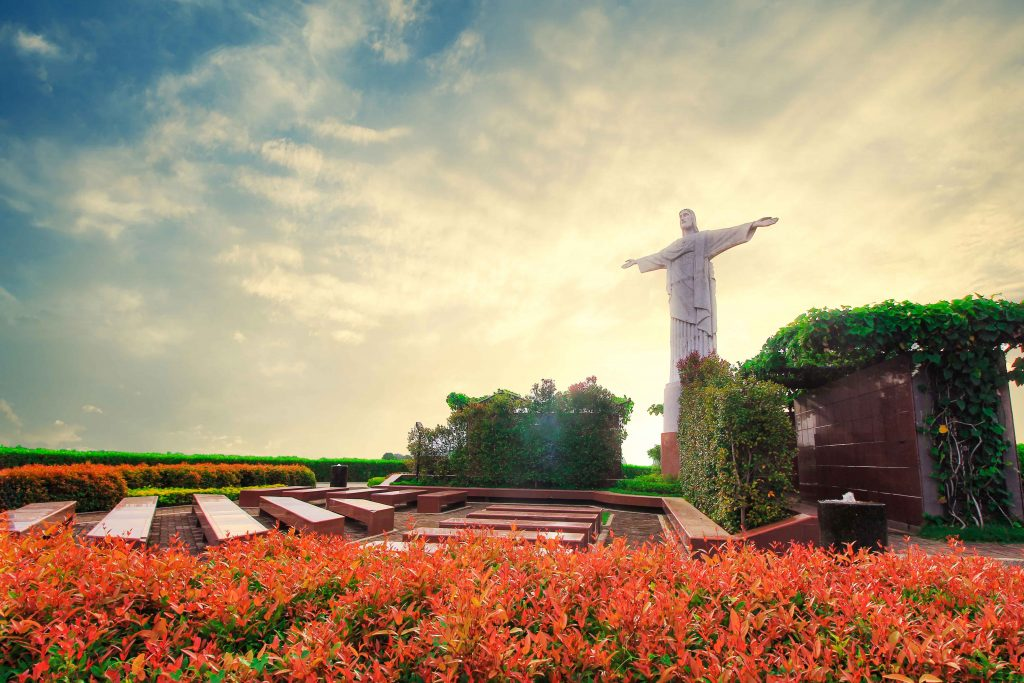 A Replica of Christ the Redeemer in Golden Haven Cagayan de Oro