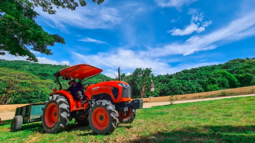 Tractor and Landscape