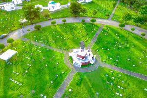 Las Pinas Memorial Park Aerial Shot