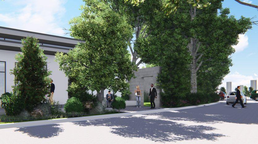 Padre Garcia Park Entrance View