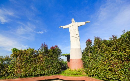 Replica of Cristo do Redentor in Cagayan de Oro