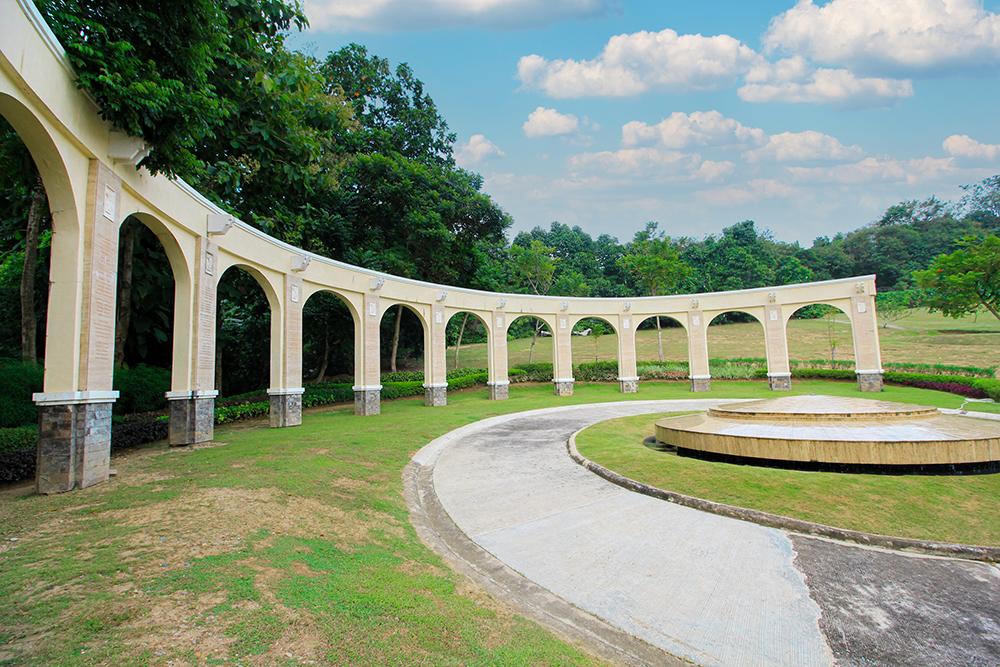 Inside Golden Haven Memorial Park - CDO is the Sendong Wall