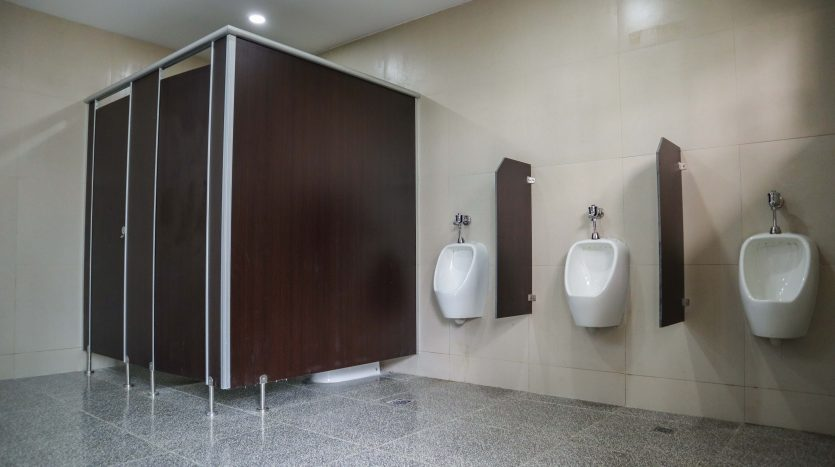 Clean Rest Rooms for men