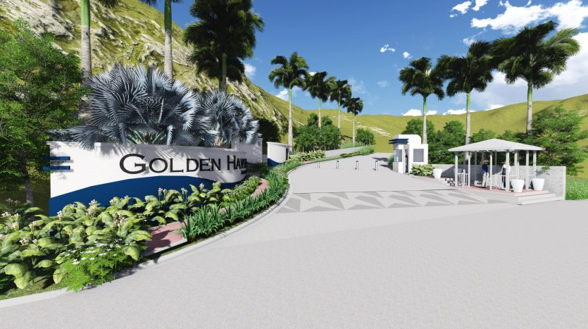 3D Perspective of Golden Haven Subic