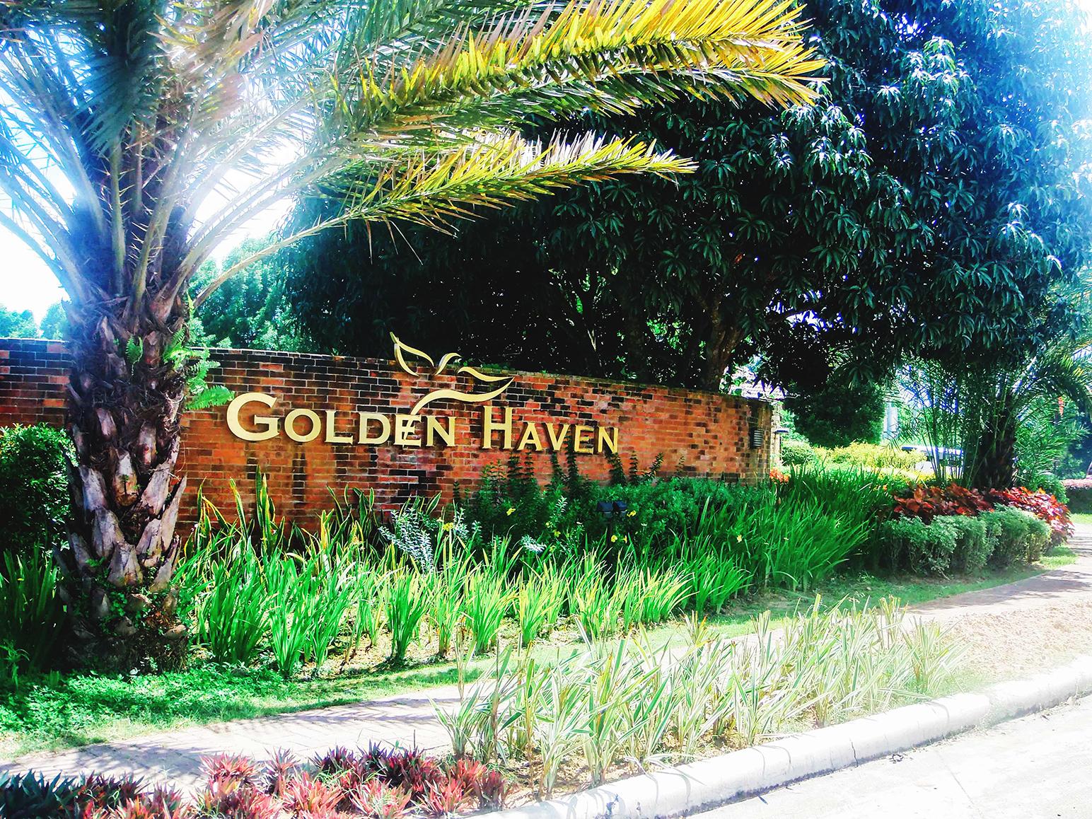 Golden Haven Signage