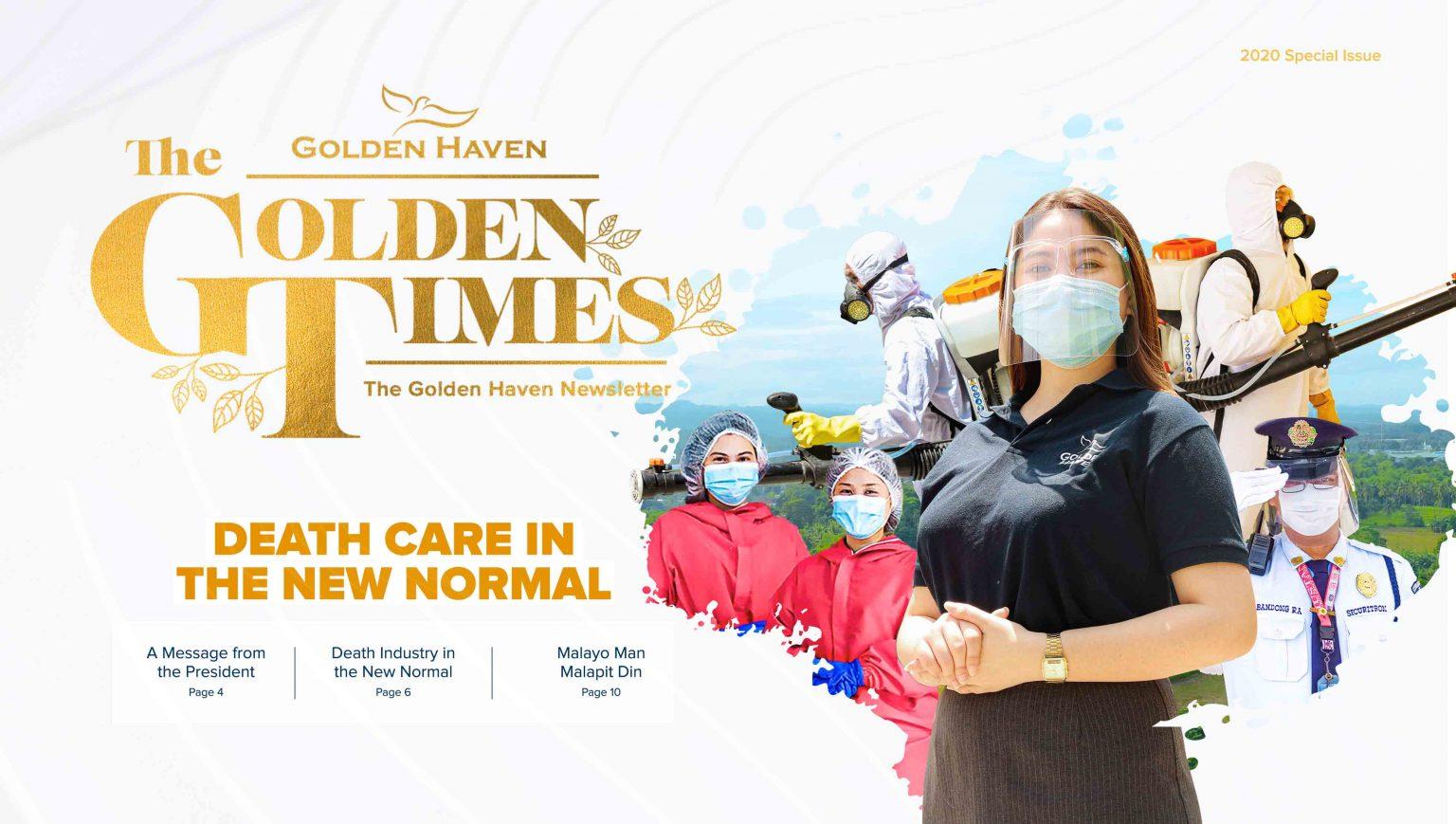 The Golden TImes Golden Haven Newsletter