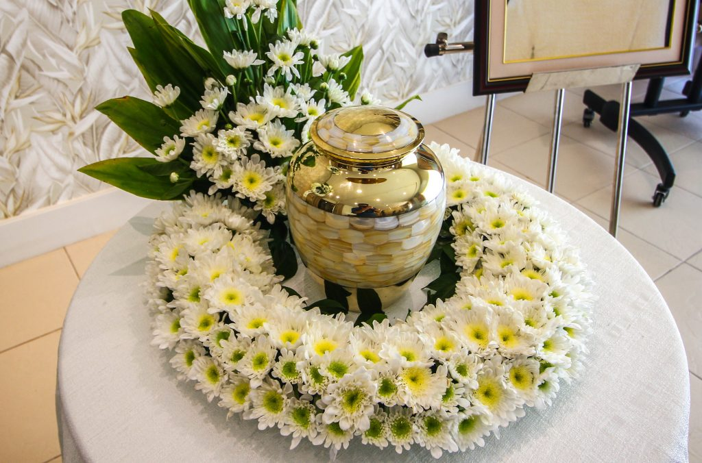 Cremation Urn and Ceremony