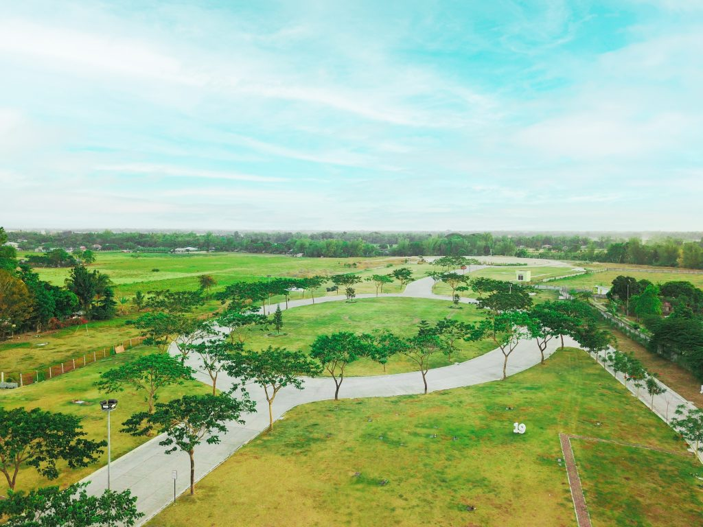 Golden Haven Iloilo Memorial Park in the Philippines Drone Shot