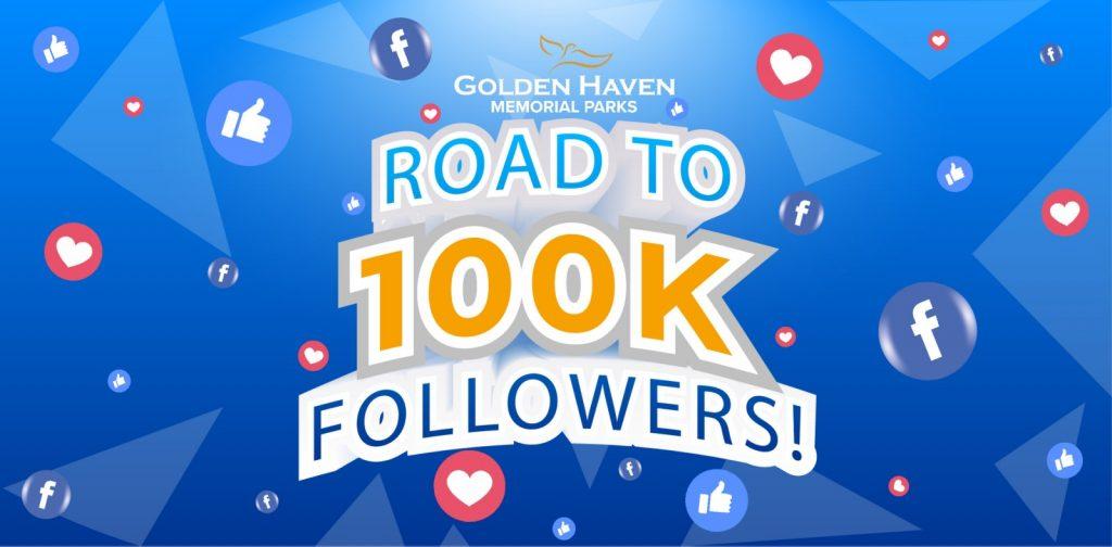 Road to 100K Golden Followers - Golden Haven